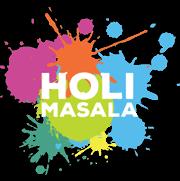 Holi Masala Food Truck Logo